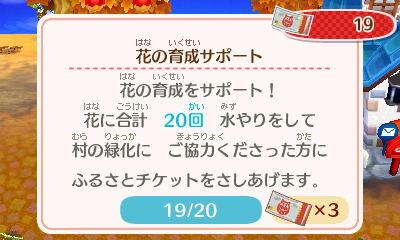 『とびだせ どうぶつの森 amiibo+』チケット条件