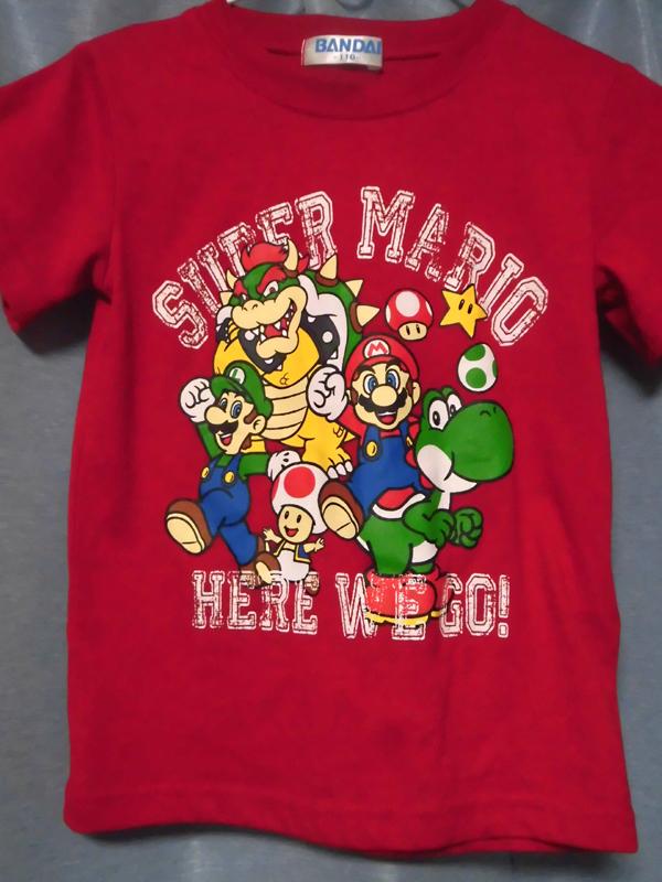 スーパーマリオTシャツ