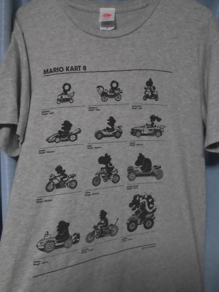 マリオカート8Tシャツ