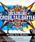 BLAZBLUE -CROSS TAG BATTLE-