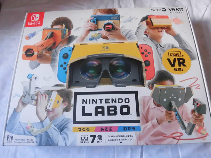 ニンテンドーラボ VR