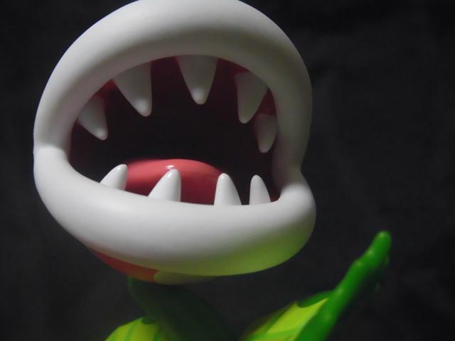 amiibo パックンフラワーの口