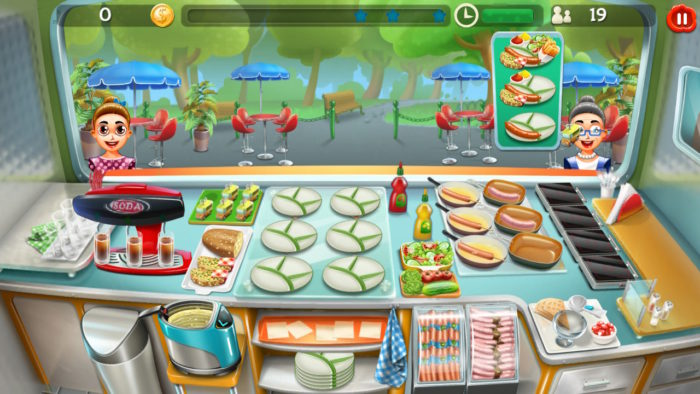 フードトラックタイクーン(Food Truck Tycoon)