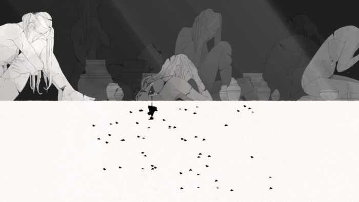 GRIS 白黒